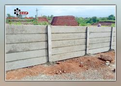 Concrete Compound Wall In Pune