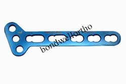 Orthopedic T Oblique Locking Plate 3.5mm