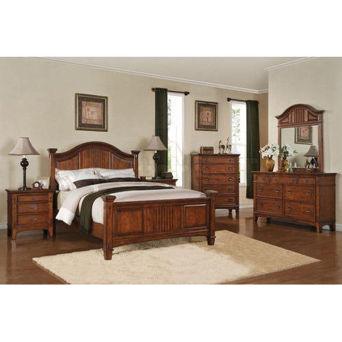 teak wood modern bedroom set - Wood Bedroom Sets