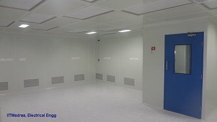 Clean Room With HVAC