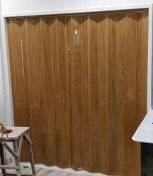Slide & Fold Finished PVC Sliding Door
