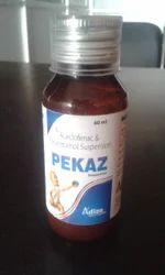 Acecelofenac 50mg & Paracetamol 125mg