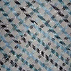 Reka Export Cotton Check Fabrics, GSM: 200-250