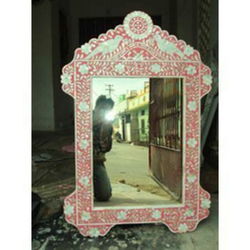 Mother Of Perl Mirror Frame
