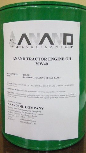 Anand 210 Litre Edl 2 Caterpillar Series 3 Tractor Engine Oil 20w40