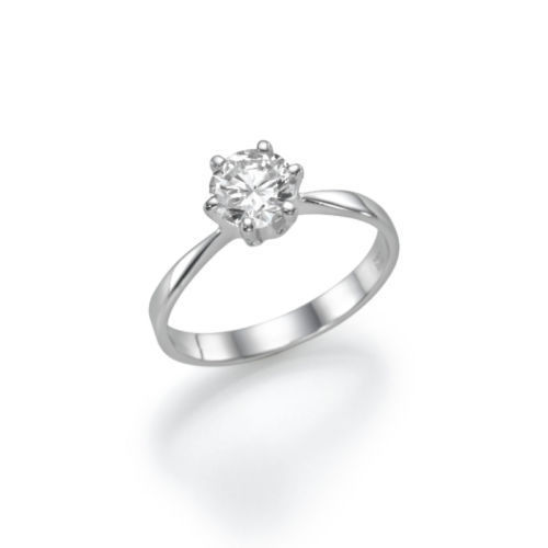 Swarovski-Crystal-Engagement-Ring-White-Gold-Plated-925 - Mishra ... 83c60b46ff