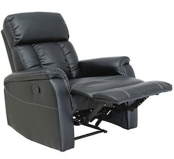 Manual Leather Recliner