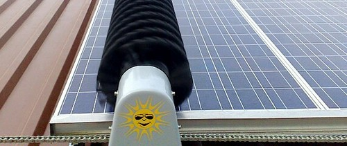 Automatic Solar Panel Cleaning Solar Panel Cleaning