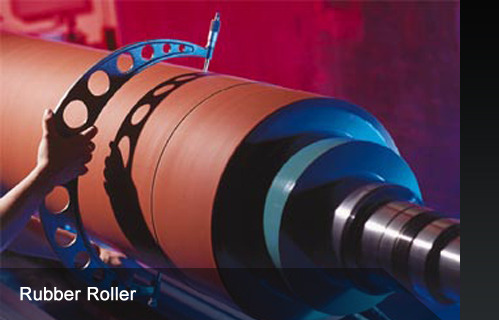 Rubber Roller Rubber Roll For Pvc Granule Machine Oem