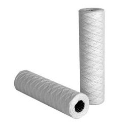 White Micro String Wound Filters, for Fine Filtration For Variety Of Gas