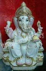 Marble Ganpati Moorti