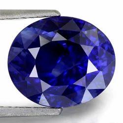 6.09 Carats Blue Sapphire