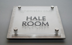 Corporate Acrylic Sign Board