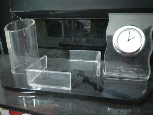 Acrylic Office Pen Holder