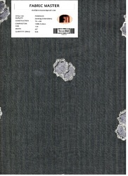 Plain Denting Embroidery Fabrics FM000220