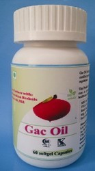 Gac Oil Softgel Capsules