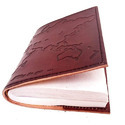 Leather Embossed Diary
