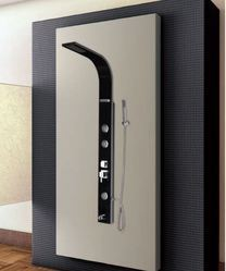Shower Panel - Black from HINDWARE