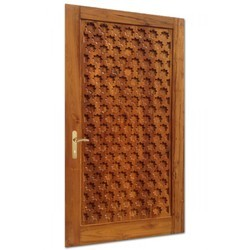 EXTERIOR INTERIOR GARDEN Finished Solid Wooden Door, For HOME HOTEL OFFICE