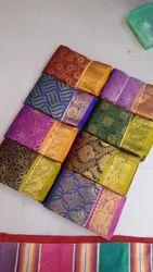 Wedding Silk Jacquard Saree