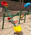 4 Seater Seesaw With Back Rest