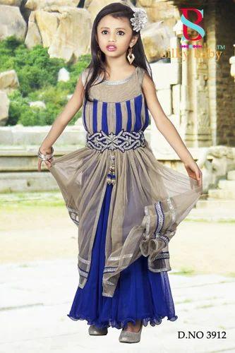 41e5ee79ae3cb Kids Partywear Long Gown at Rs 995 /piece | Dadar | Mumbai | ID ...
