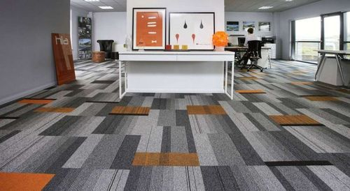 Office Carpet Tile At Rs 95 Square Feet Modular Carpet Tiles Id