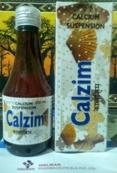 CAlZIM Suspension, Packaging Type: Amber Bottle