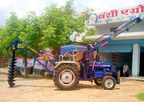 Post Hole Digger - Hydraulic Post Hole Digger Manufacturer from Jaipur