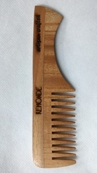 WOODEN HANDLE POCKET COMB - CEDAR WOOD