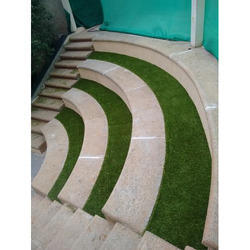 Synthetic Grass PP Artificial Turf Installation Services, For Outdoor, Unit Size: 30mm