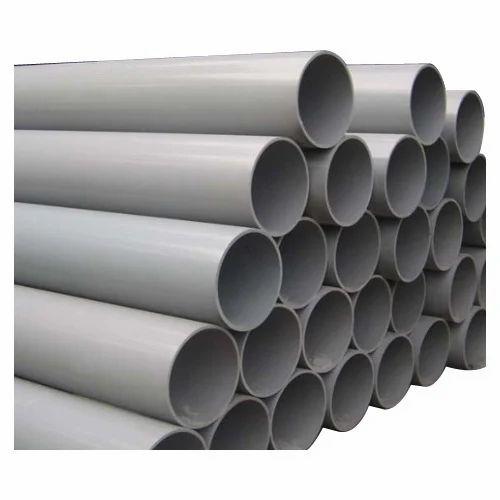 Pvc Pipe: Aadarsh Plastics Grey PVC Pipes, Length Of One Pipe: 3m