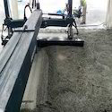 Flooring with Copperhead Laserscreed Machine
