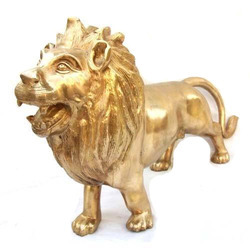 Lion Statue, for Exterior Decor, Size/dimension: 30