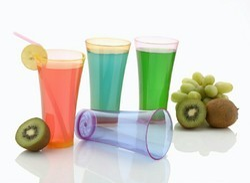 200ML Unbreakable Plastic Glass