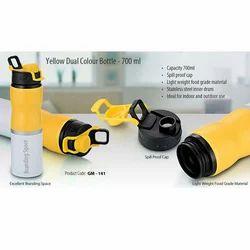 Yellow Dual Colour Bottle 700ml