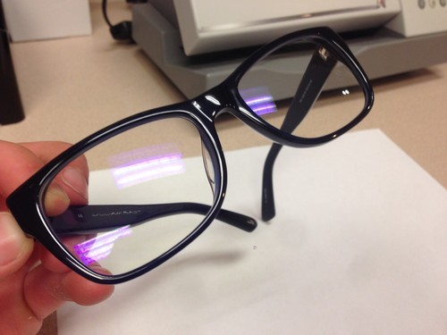 Transparent Glass Eyeglass Blue Block Lens For Glasses Rs