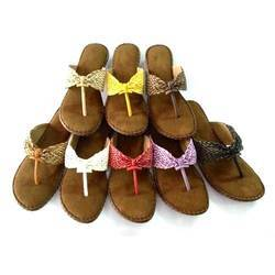 Brown Ladies Slipper, Size: 5 & 6