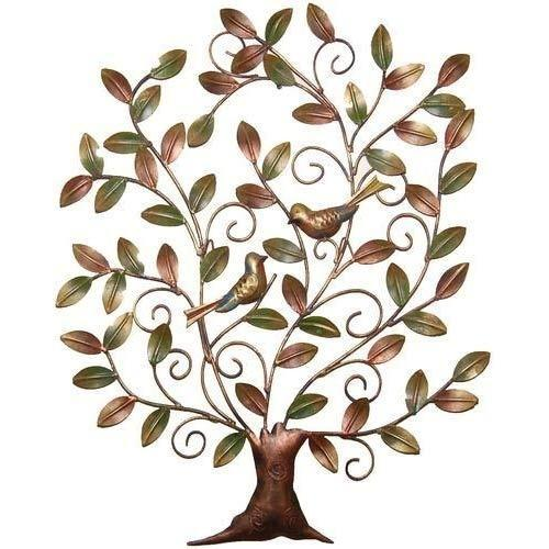 d6f8def6be Green & Brown Metal Tree Wall Hanging, Rs 850 /piece, Malik Designs ...