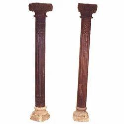 Wooden Antique Columns