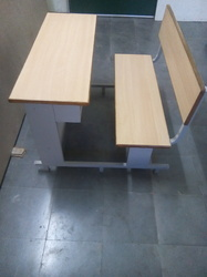 2 Seater Bench With Plywood Tops
