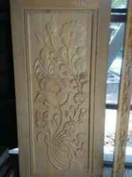 Art Worked Wood Door