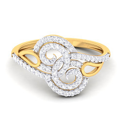 02ac9c94c Anniversary, Engagement Women'S Designer Diamond Ring, Size: Free Size, Rs  24038 /piece | ID: 13401573273