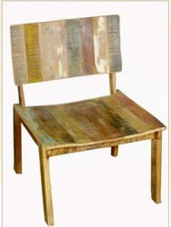 Reclaimed Wood Chair - Reclaimed Wood Furniture Indi