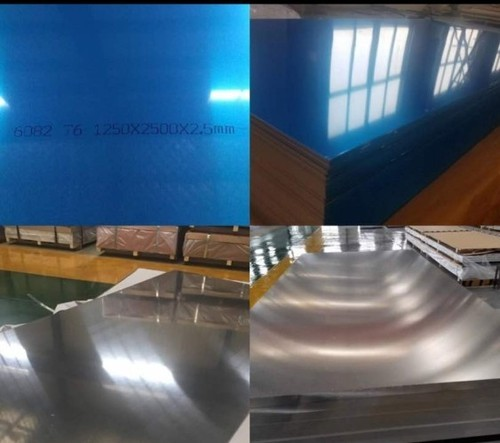 Aluminium Hard Plates, Size: 1250 X 2500, Thickness: 2 mm