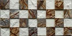 JAI STONE Natural Stone Design Wall Tiles, Thickness: 10 - 12 mm, Size: 30X30CM