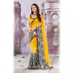 Cotton Digital Printed Sarees