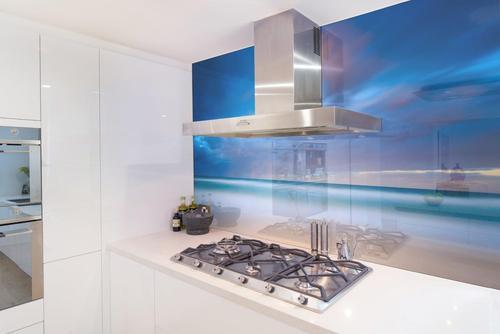 Customized Digital Printed Glass Splash Back Digiarts