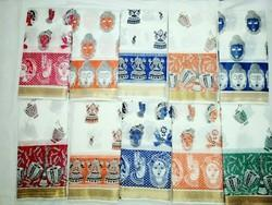 Kerala Cotton Hand Printed Saree