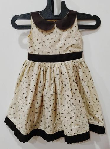 797b5c547b75 Cotton Design And Plain Summer Girls Frocks